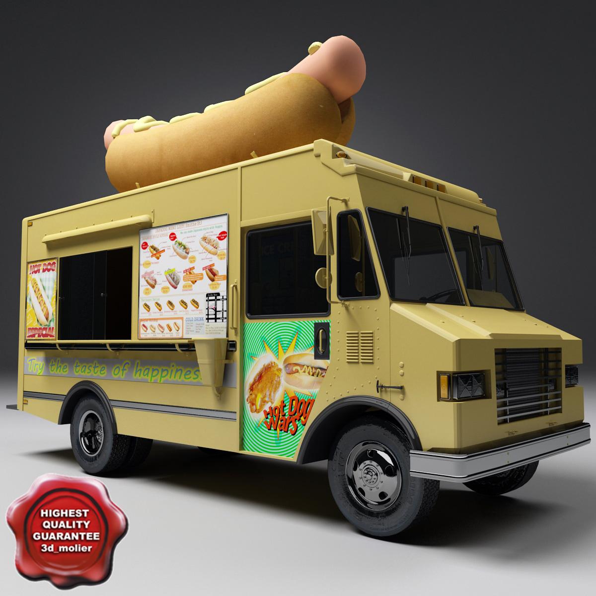 Urban Hotdog Food Truck