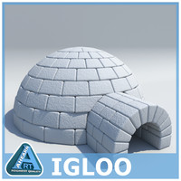 3ds max igloo brick