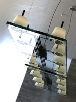 citterio lastra suspension lamp 3ds