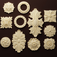 Rosettes SET 1 (11 models)