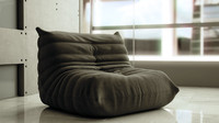 Photorealistic Togo Lounge Chair