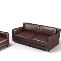 baxter modern contemporary leather sofa tuscany  lucca spider sofa chair armchair