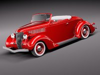 Ford 1936 convertible