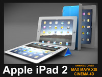 3d model apple ipad 2