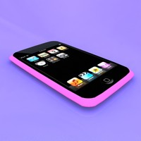 ipod device 3d obj