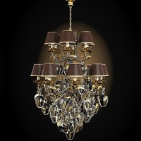 pataviumart classic luxury art deco chandelier crystal