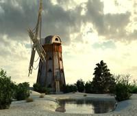 3ds max mills