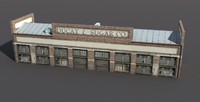 house warehouse 3d model