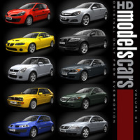 HDModels Cars vol. 1