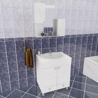 plm bathroom set 3d model