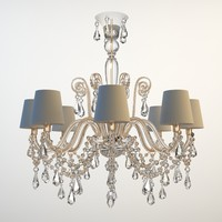 Ornate Beaded Chandelier 3