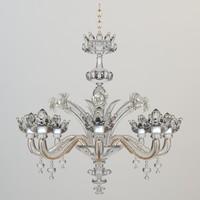 chandelier details 3d 3ds