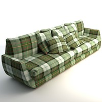 3d model sofa scottish