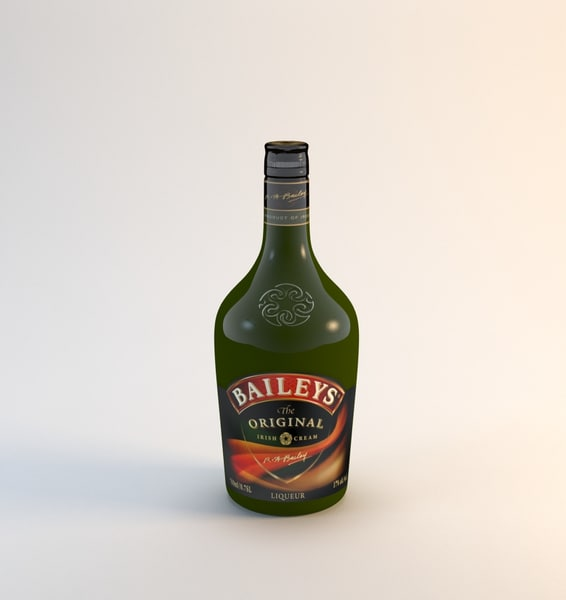 18 alcohol bottles 3d max - 18 alcohol bottles... by HGT