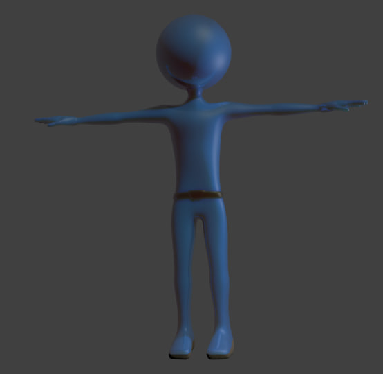 Blender Character Modeling 7 Of 10 : Blender animation