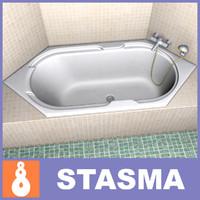 bath 3d model