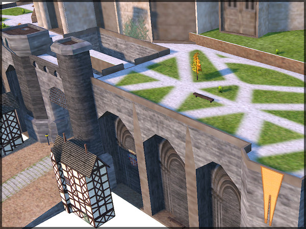 3ds max fantasy castle - Fantasy Castle, Low Poly, Textured... by Raahl