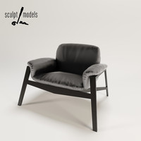 3ds max wogg 47 armchair