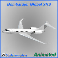 Bombardier Global XRS Generic white
