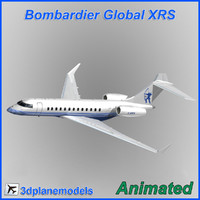 3d bombardier global