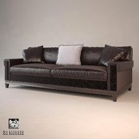 barbara barry suited sofa 3d model