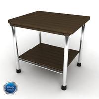 bath bench 3d model