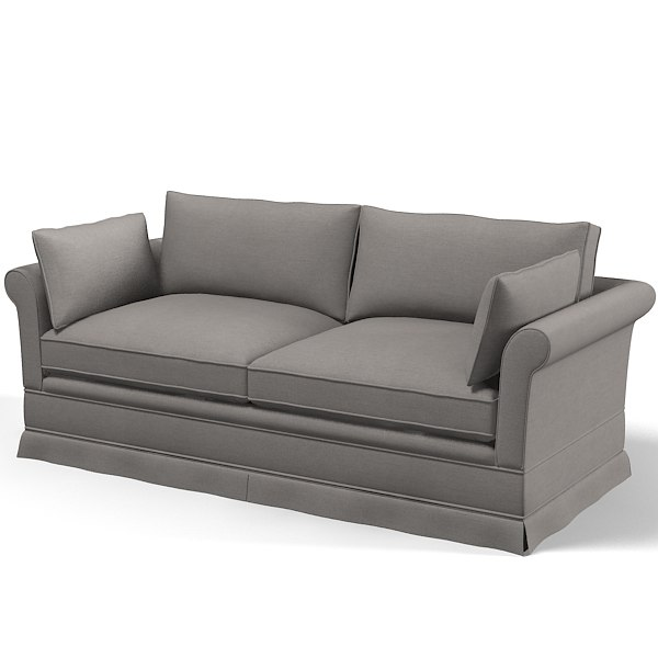 Classic traditional sofa d model