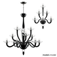 3d model suspension lamps