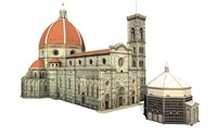 3dsmax cathedral florence