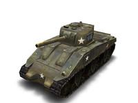 WW2 M4a3 Tank