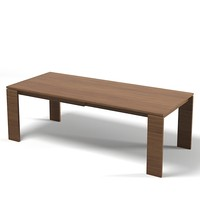 porada kevin dining table modern contemporary