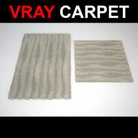 rug strands 3d max