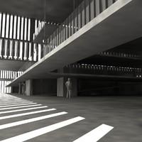 building exterior scenario 3d model