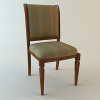 3d traditional chair