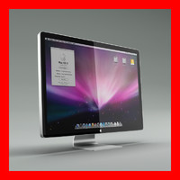 apple display 3d max