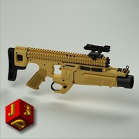 The grenade launcher FN40GL®-S (Stand-Alone)