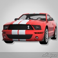 Car Ford Mustang GT 500