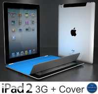 apple ipad 2 3g 3d max