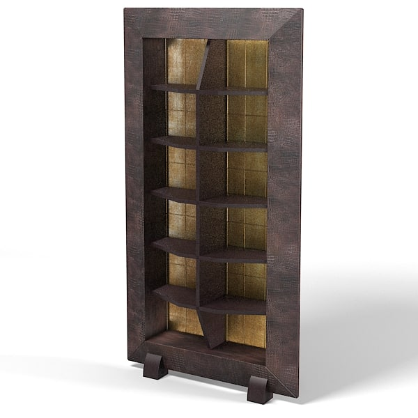 SMANIA SPY modern contemporary etagere shelves leather art deco .jpg