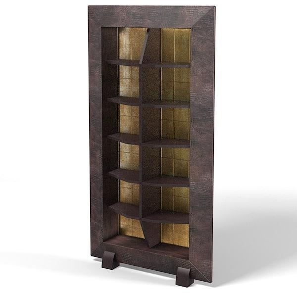 etagere 3d models. Black Bedroom Furniture Sets. Home Design Ideas