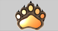 cinema4d paw bear