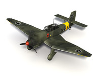 junkers ju-87 stuka ju 3d model