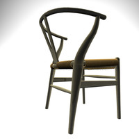 maya ch24 wegner chair wishbone