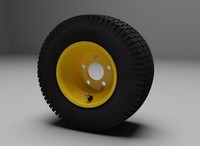 Riding Lawn Mower Wheel