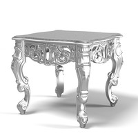 Of Interni 9227 cocktail coffee side glamour baroque table
