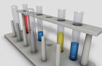 test tube rack 3d 3ds