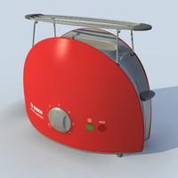 bosch toaster 3d obj