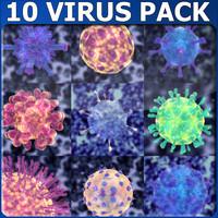 10 Virus pack