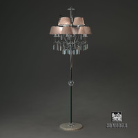 3d visionnaire floor lamp model
