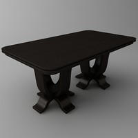table materials 3d model